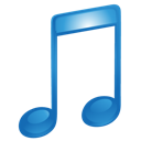 blue, itunes, music, sound