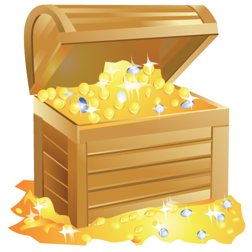 iconfinder  bright  by iconeden treasure box clip art free open treasure box clipart