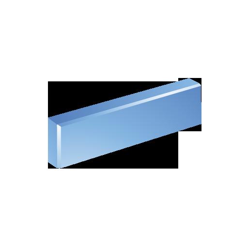 blue, minus icon