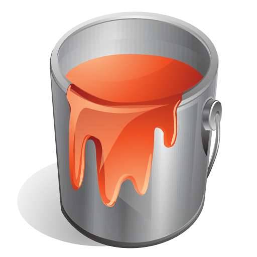 paint, red icon