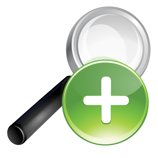 Green, plus, search icon - Free download on Iconfinder
