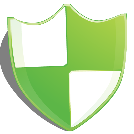 green, protection, shield icon