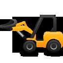 forklift, construction