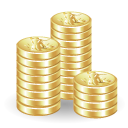 cash, coins, money, payment icon