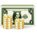 03, bank, coints, dollar, money icon