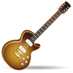 guitar, instrument, music, rock icon