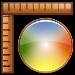 25, color, measures icon