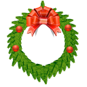 christmas, decoration icon