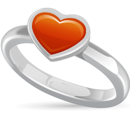 Day Love Valentines Wedding Icon