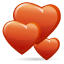 12, day, love, valentines icon