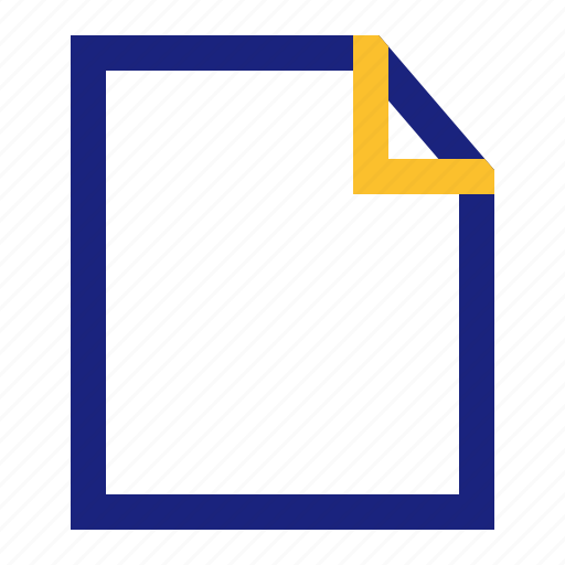 blank, business, file, new, office, page icon