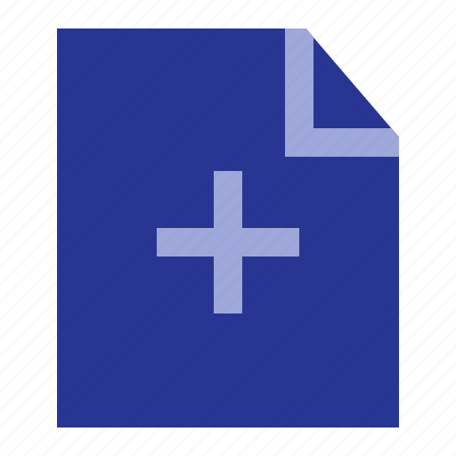 add, business, file, office icon