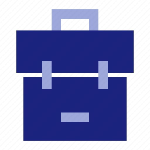 backpack, business, office icon