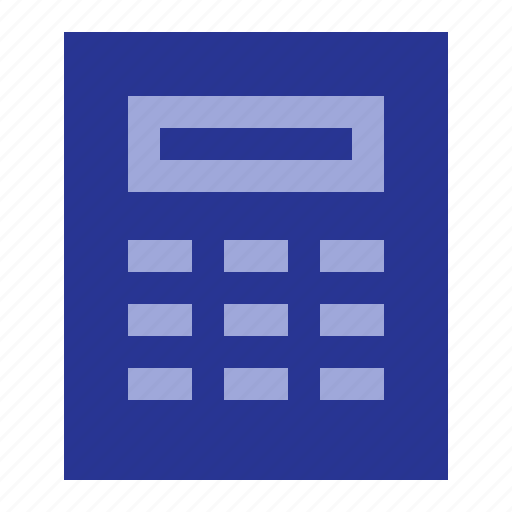 business, calculator, office icon