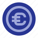 business, coin, money, office icon