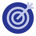 business, office, target icon