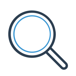 explore, find, magnifier, magnifying, research, search, zoom icon
