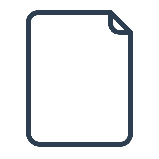 document, file type, page, paper icon