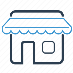building, house, online shop, property, real estate, store, webshop icon