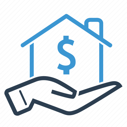 home loan, investment, mortgage, price, property, real estate, sale icon