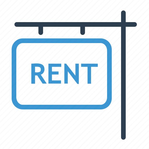 for rent, house, information, property, real estate, rent appartment, sign icon