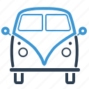 campervan, car, life on wheels, minivan icon