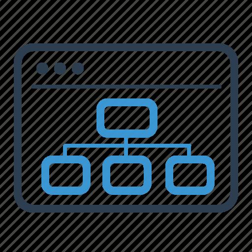 Sitemap, browser, navigation icon - Download on Iconfinder