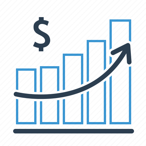 Growth, income, dollar icon - Download on Iconfinder