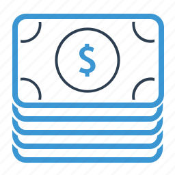 banknote, cash, currency, dollar, income, money, payment icon