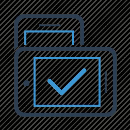 adaptive, mobile, orientation, responsive icon