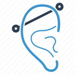 bite, ear, fun, hear, industrial, listen, piercing icon