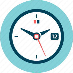 clock, day, hours, minute, period, time, watch icon
