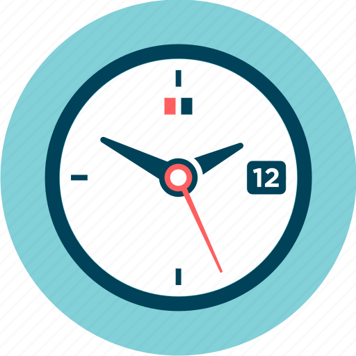 Clock, watch, period, hours, time, day, minute icon