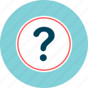 ask, faq, help, question icon