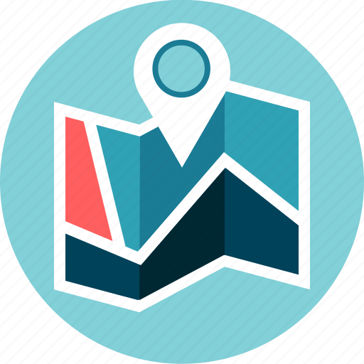 address, gps, location, map, pin, roads icon