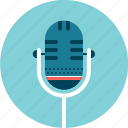 microphone, show, sing, speak, stage, talk icon