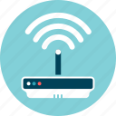 connection, device, internet, modem, wifi, wireless icon