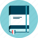 agenda, annotations, book, program, recipes icon