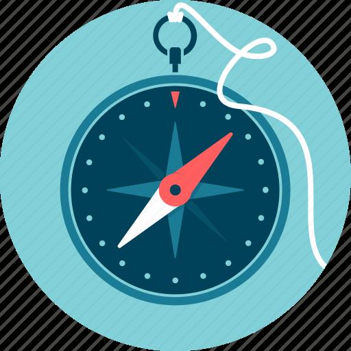 browse, compass, direction, explore, location, management icon