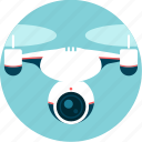 camera, control, drone, espionage, remote-pilot, video, watch icon