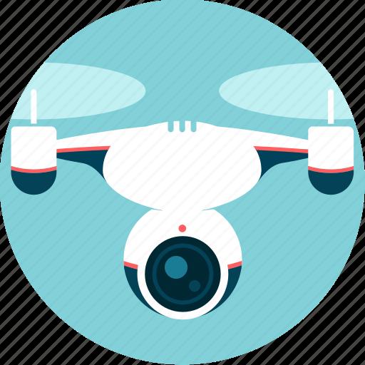 camera, control, drone, espionage, remote-pilot, video, watch icon