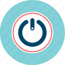 logon, on, power, turn-off icon