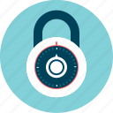 locked, padlock, safety, security icon