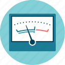 analysis, control, measure, meter, sound, vu icon