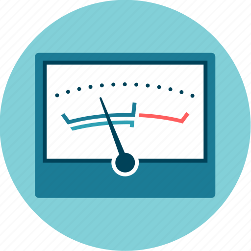 analysis, control, measure, meter, sound, vu icon