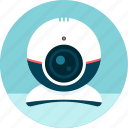 camera, film, video, video-call, webcam icon