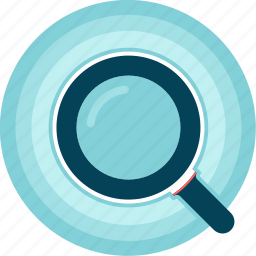 finder, look-up, lupe, search, zoom icon