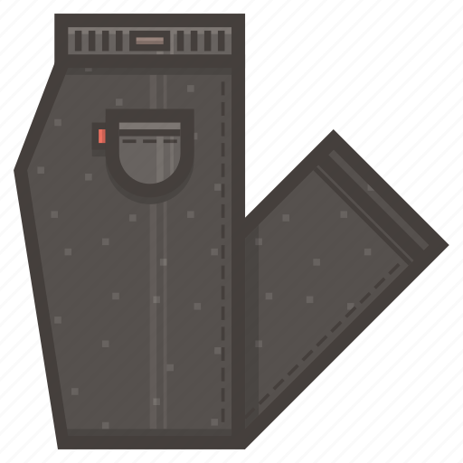folded, pants icon