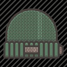 green, hat icon