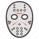 hockey, mask icon